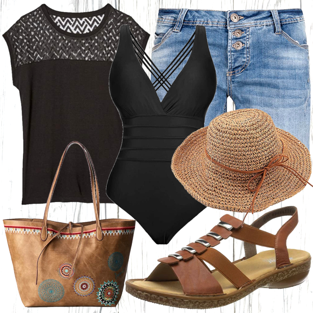 Damen Strand Outfit
