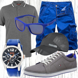 Maritimes Strand Outfit