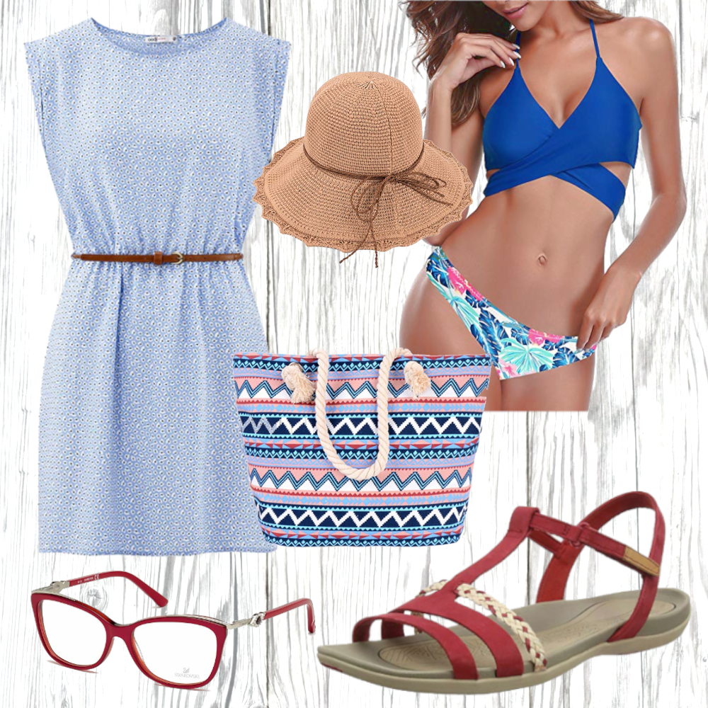 Strand Kleid