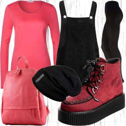 Damen Herbst Outfit