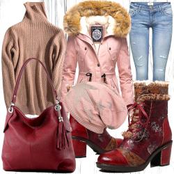 Damen Winter Outfit