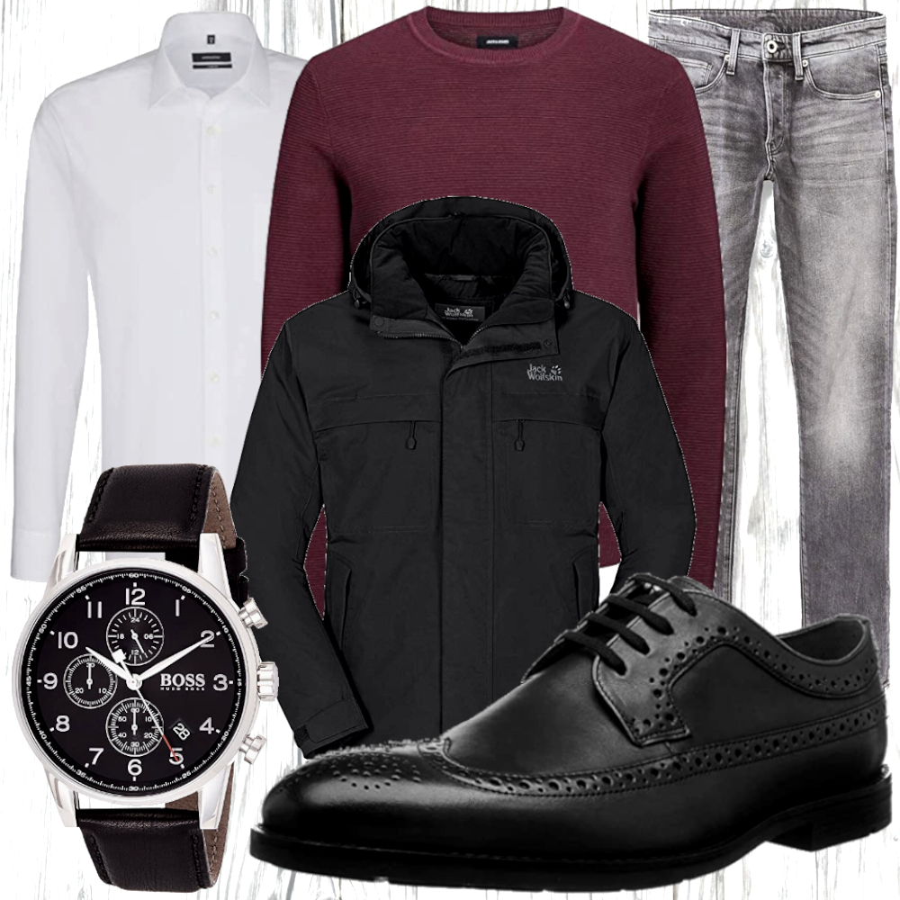 Herren Winter Look