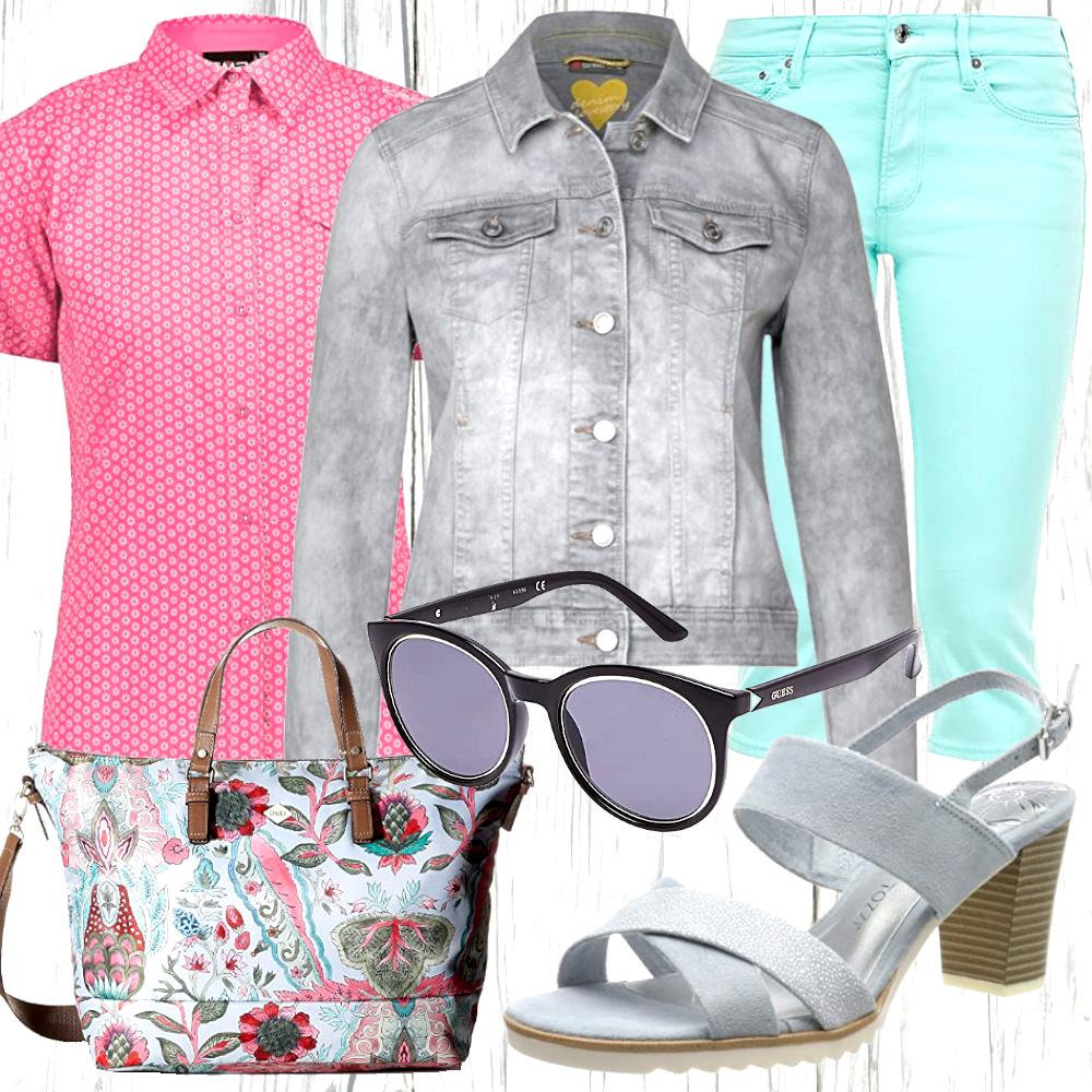Sommer Freizeit Look