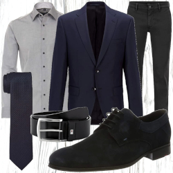 Business Herren Look