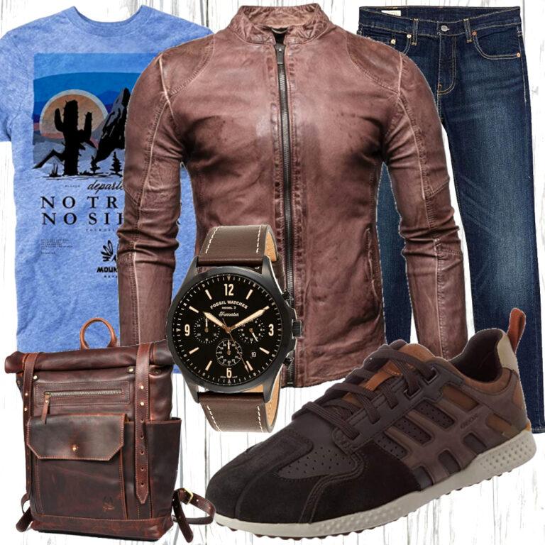 Biker Style - Ein Look für den Day Trip   Fashion - Outfit ...