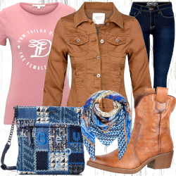 Damen Country Look