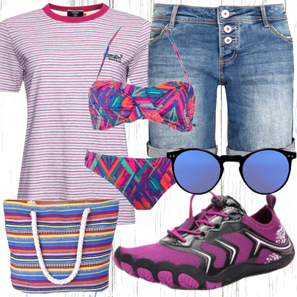Strand Outfit Damen