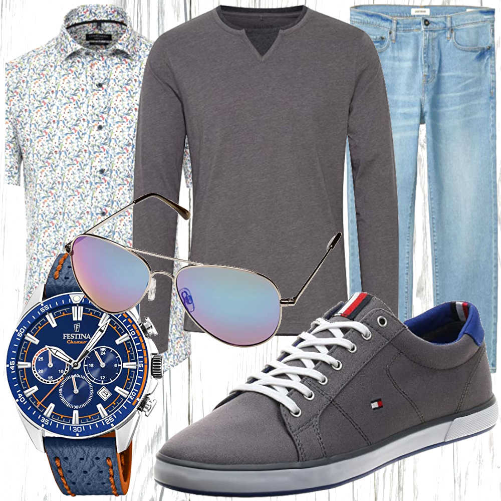 Herren Freizeit Outfit