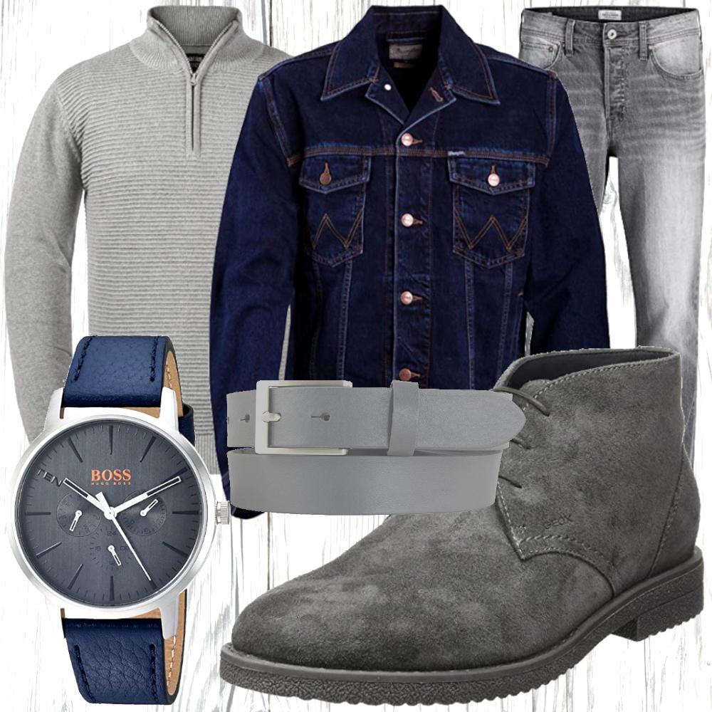 Herren Jeans Look